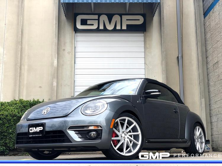 2014 VW Beetle with Vossen Wheels, APR Air Intake, H&R Springs, and More