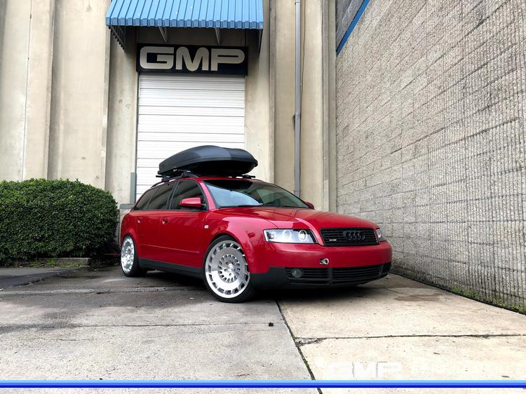 2003 Audi A4 Wagon with Rotiform Wheels