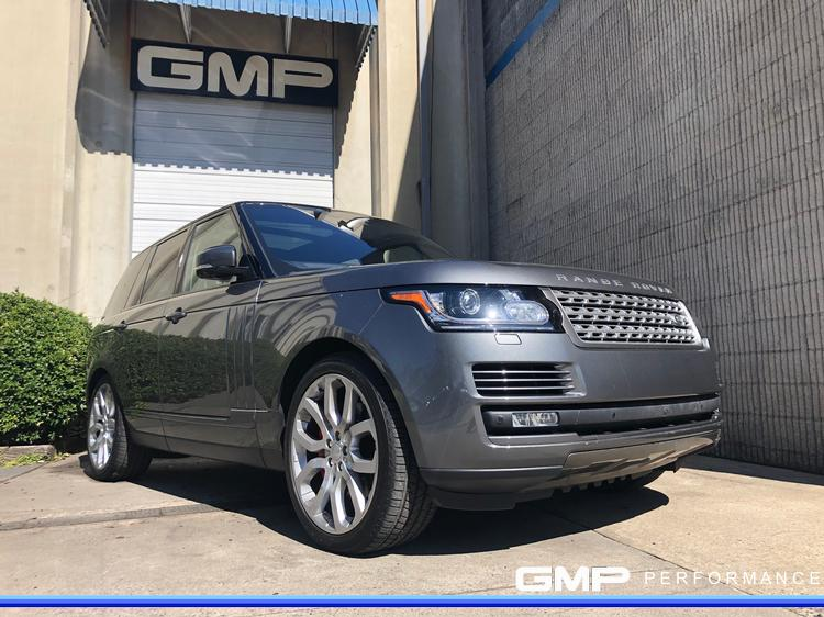 Range Rover with Caliper Painting and Trim Paint