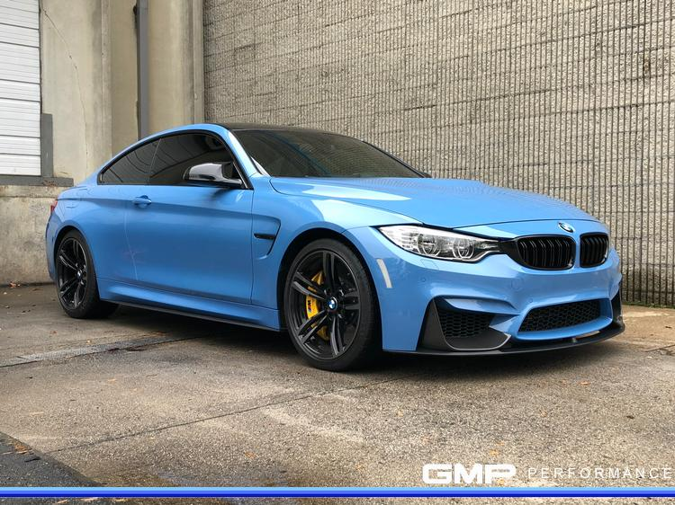 BMW M4 with Custom Painted Calipers